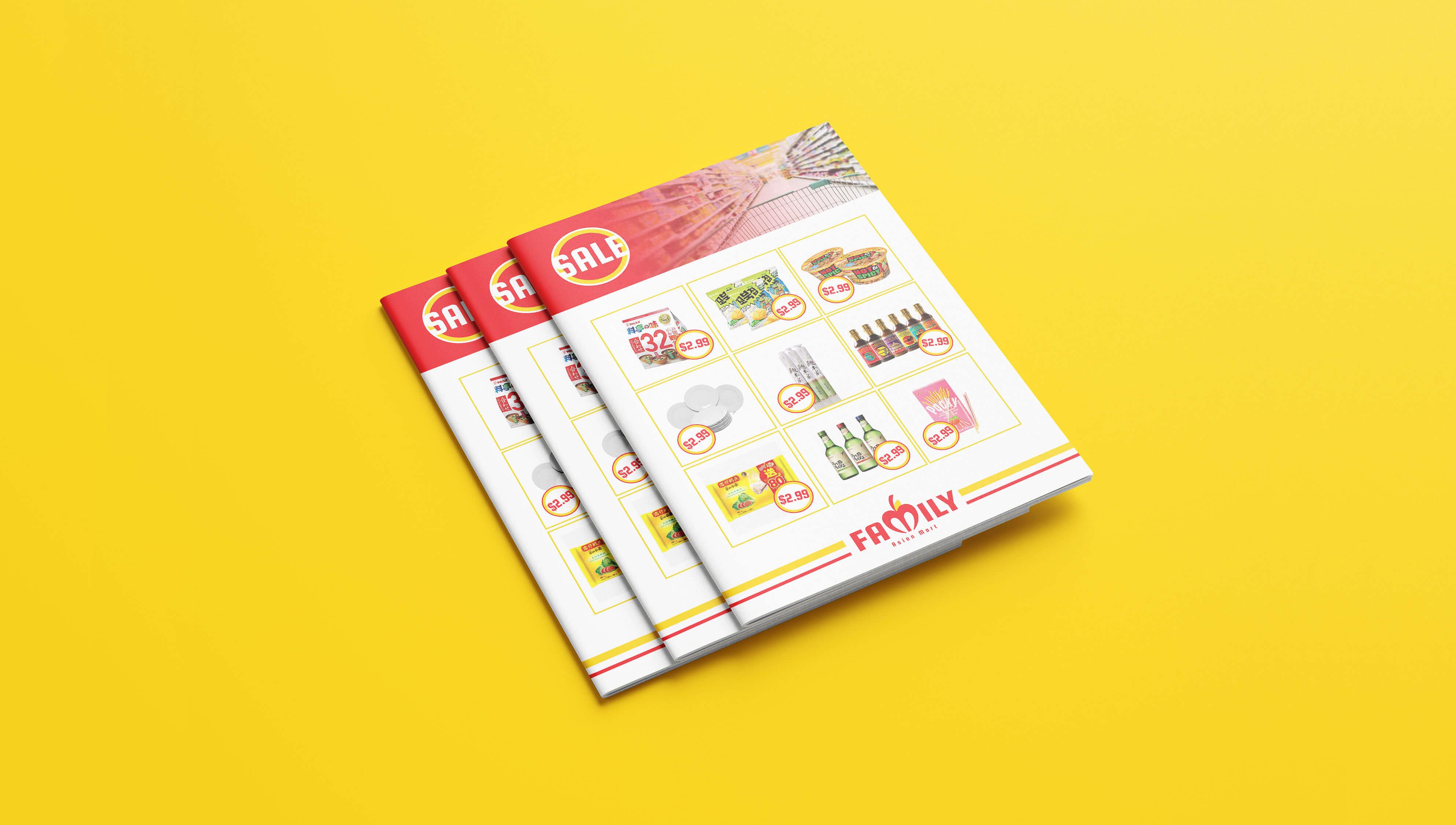 Set of brochures designed by Meld