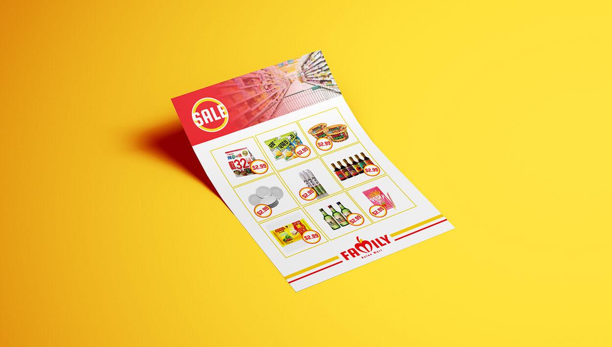 Flyer designed by Meld Design