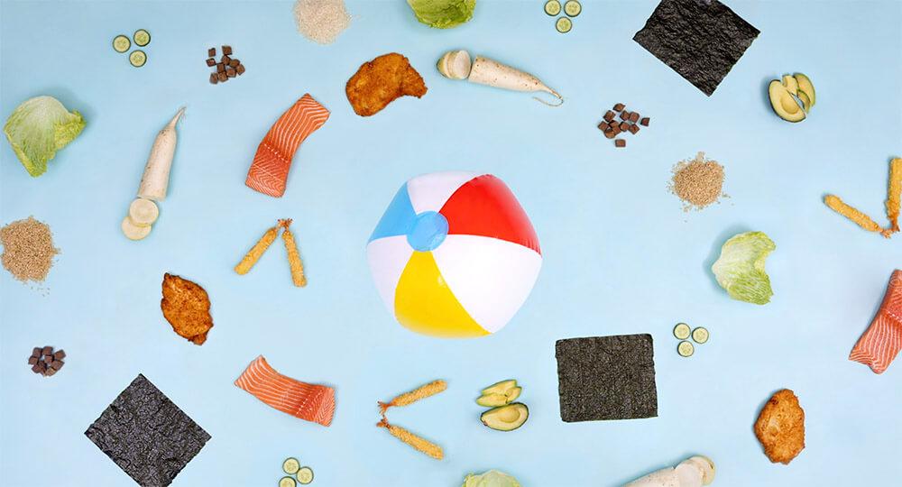 Sushi Hub animation advertisement