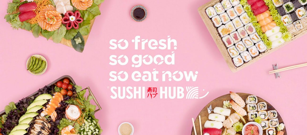 Sushi Hub Cinema Ad