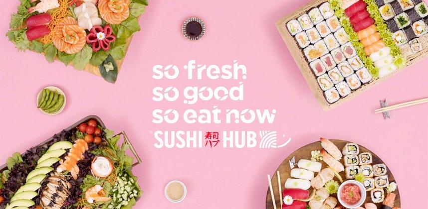 Sushi Hub Cinema Ad