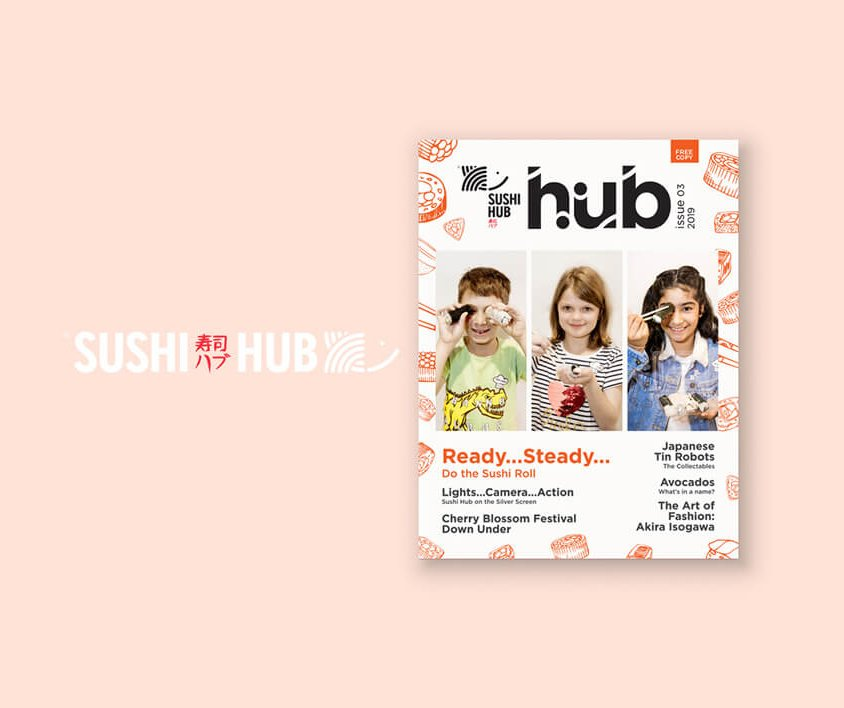 Sushi Hub Magazine – Issue 3
