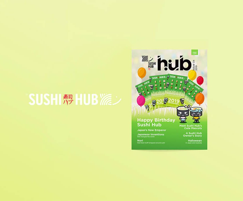 Sushi Hub Magazine – Issue 4